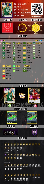 《NBA 2K21》銀河大夢領銜Flash卡包 5