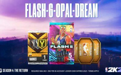 《NBA 2K21》銀河大夢領銜Flash卡包