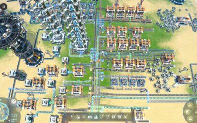 戴森球計劃-簡單生產總線結構