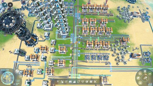 戴森球計劃-簡單生產總線結構 1