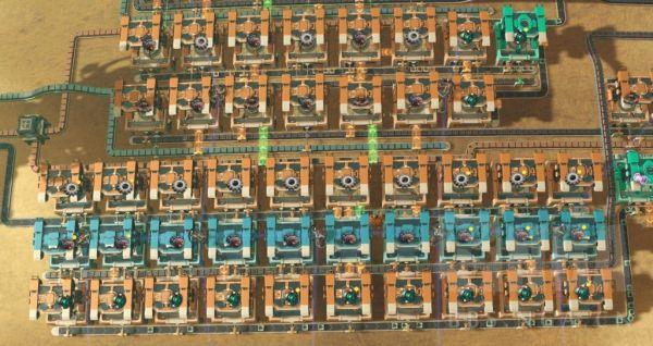 戴森球計劃-綠馬達與CPU配平量化布局 1