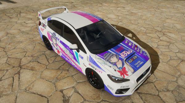 《極限競速:地平線4》美少女戰士痛車塗裝 3