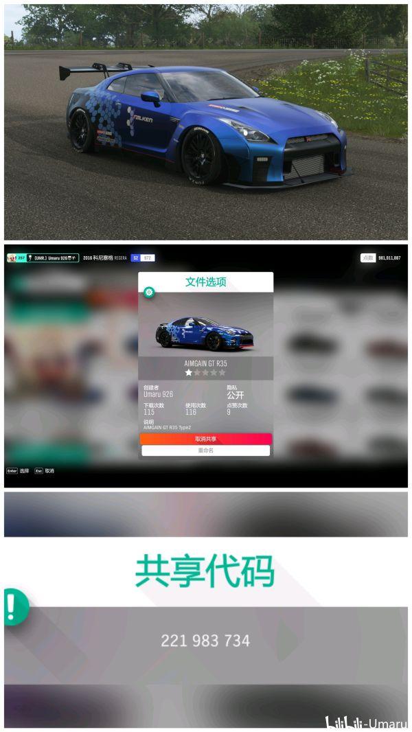 《極限競速:地平線4》賽車各類塗裝 35