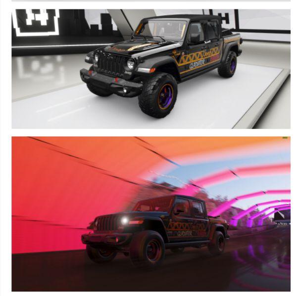 《極限競速:地平線4》Jeep Rubicon塗裝 11