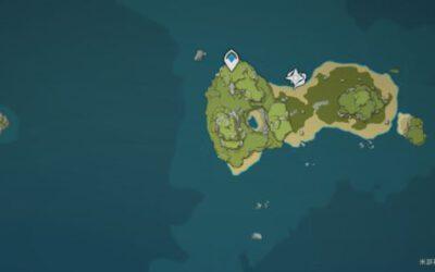 原神-危危島左側小島解謎指南