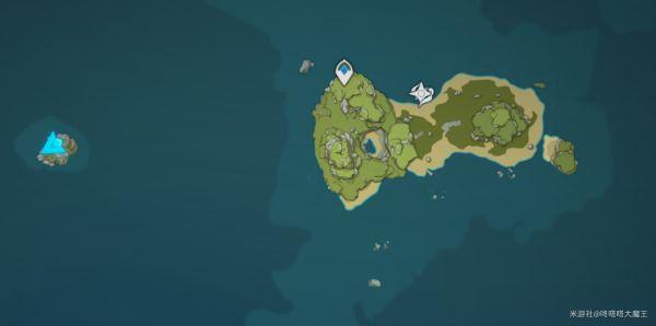 原神-危危島左側小島解謎指南 1