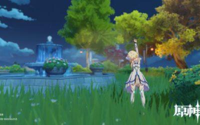 原神-塵歌壺噴泉花園搭建