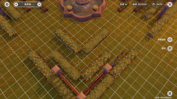 原神-塵歌壺噴泉花園搭建 13