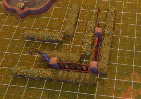 原神-塵歌壺噴泉花園搭建 17