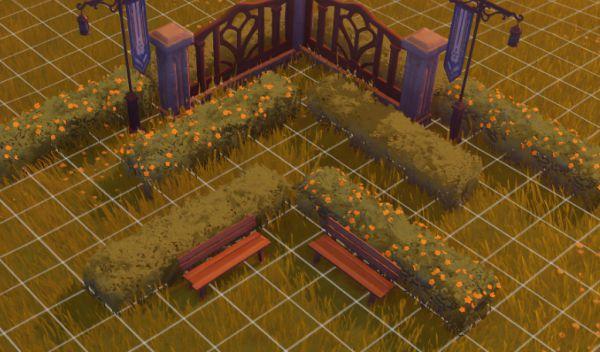 原神-塵歌壺噴泉花園搭建 19