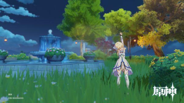 原神-塵歌壺噴泉花園搭建 1