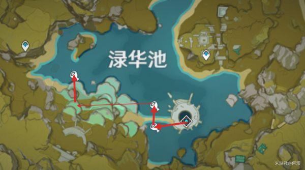 原神-魚肉收集路線展示 17