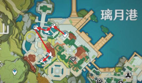 原神-魚肉收集路線展示 19