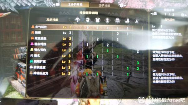 怪物獵人:崛起-3.0版鋼龍榴斬輕弩配裝 3