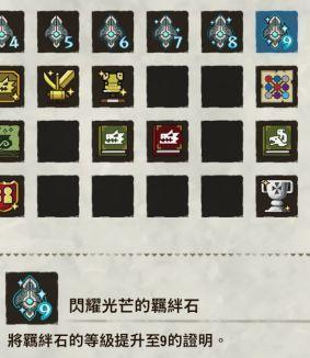 《怪物獵人物語2》羈絆石等級9徽章入手攻略