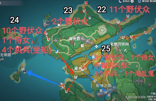原神-2.0版本稻妻鋤地線路 21