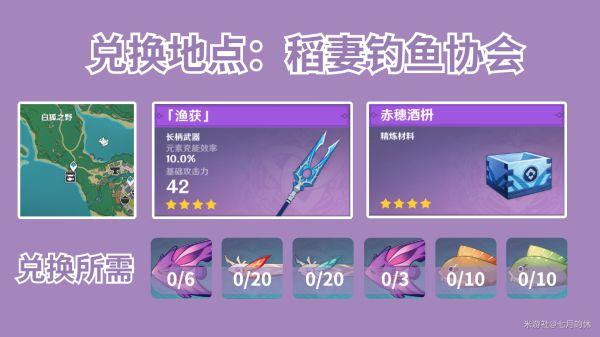 原神-漁獲武器及精煉材料入手指南 5