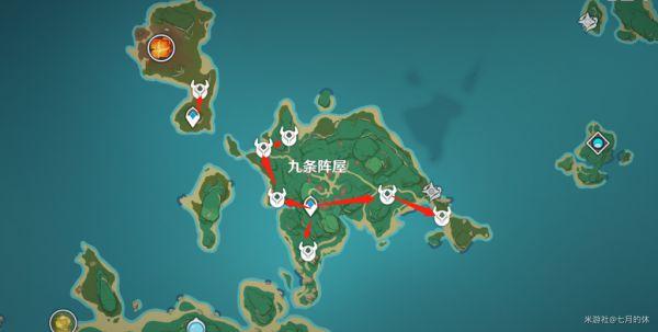 原神-雷電將軍突破材料入手指南 21