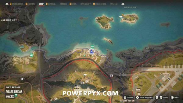 《孤島驚魂6》所有密碼箱及密碼表位置分享攻略 59