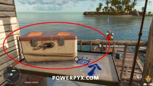 《孤島驚魂6》所有密碼箱及密碼表位置分享攻略 61