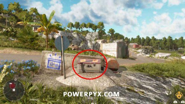 《孤島驚魂6》所有密碼箱及密碼表位置分享攻略 117